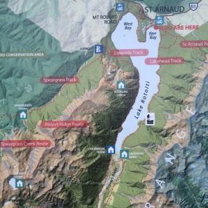 Lake Rotoiti Circuit map.