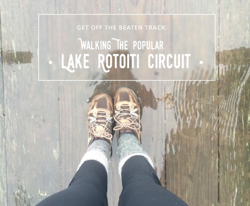 Walking the popular Lake Rotoiti Circuit.