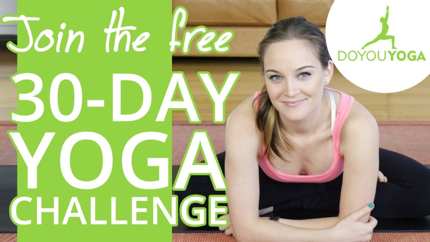 30 Day Yoga Challenge with Erin Motz.