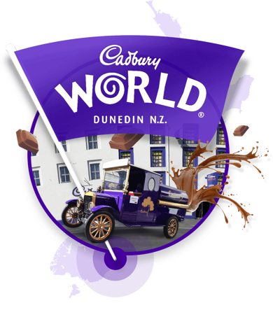 Image link to Cadbury World website.