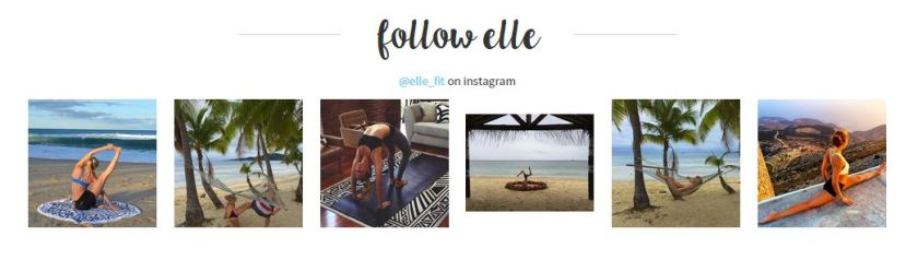 Follow Elle on Social Media.