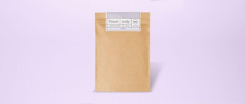 Frank Cacao Body Scrub.