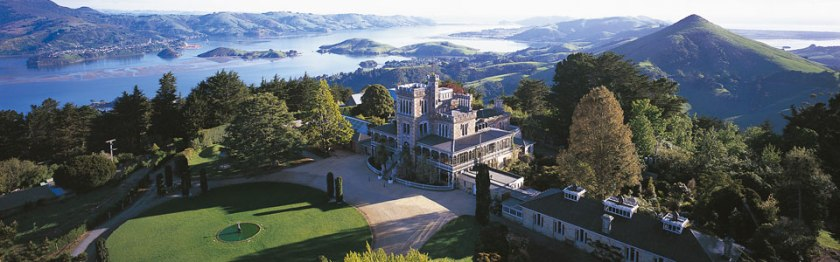 Image link to Larnach Castle website.